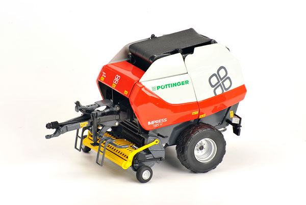601543 - ROS Pottinger Impress 185 V Round Baler