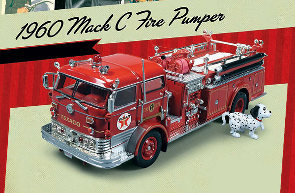 CP7157 - Round 2 Texaco 1960 Mack C Fire Pumper