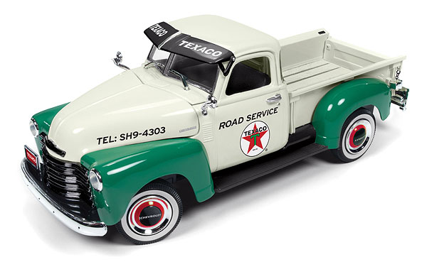 CP7392 - Round 2 Texaco 1950 Chevrolet Pickup Truck 4th