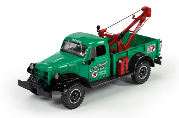 CP7426 - Round 2 Texaco 1946 Dodge Power Wagon Wrecker