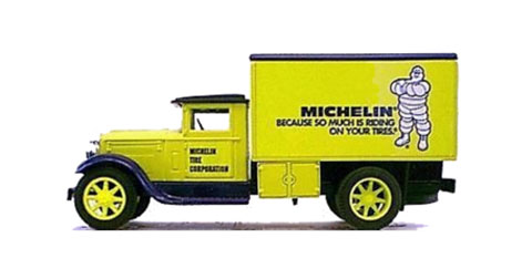 GC-5046 - Scale Models Michelin Tire Corp 1 Freight Delivery