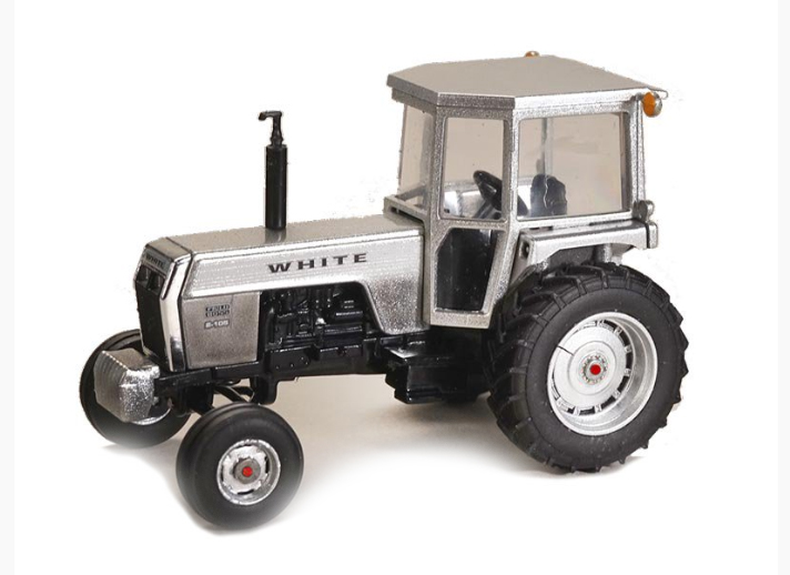 CUST-1618 - Spec-cast White Field Boss 2 105 Tractor