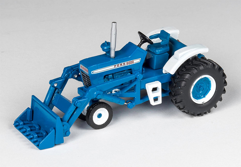 CUST-1702 - Spec-cast Ford 8000 Tractor