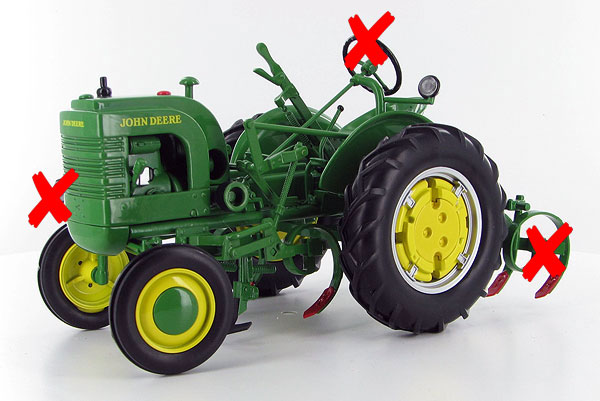 JDM-249-X - Spec-cast John Deere 1942 Model LA