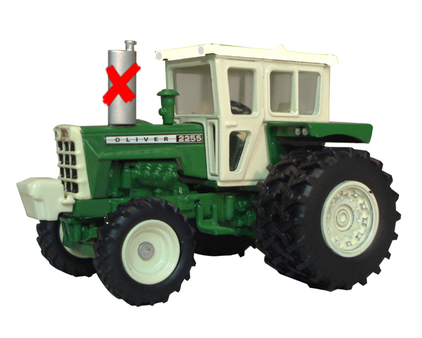 SCT-424-X - Spec-cast Oliver 2255 FWA Tractor
