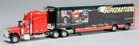 ZJD-1588 - Spec-cast Supernatural Peterbilt 379 Transporter