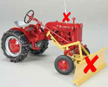 ZJD-1648-X - Spec-cast Farmall Cub
