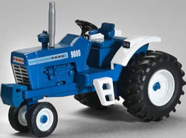 ZJD-1833 - Spec-cast Ford 9000 Narrow Front Tractor