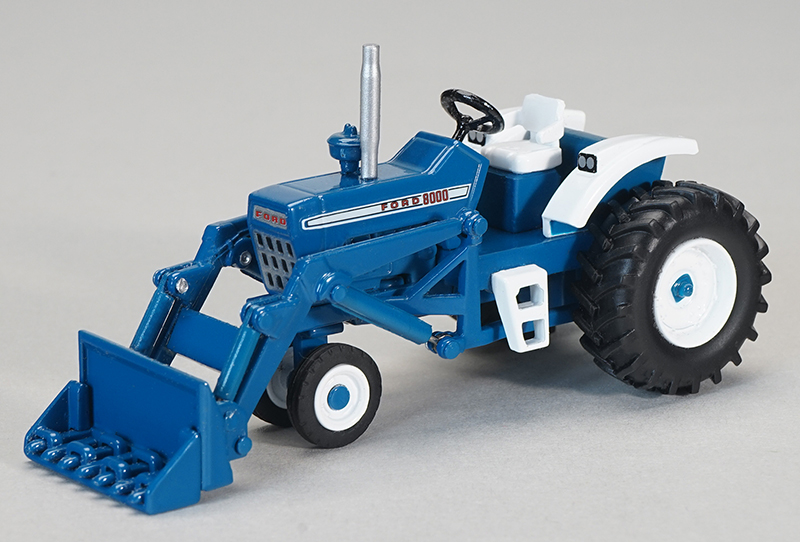 ZJD-1835 - Spec-cast Ford 8000 Narrow Front Tractor