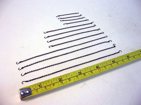 P002 - Sword Accessory Pack Chains and Hooks