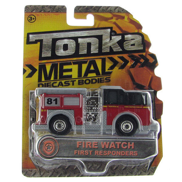 06403 - Tonka Fire Watch Fire Truck Tonka First