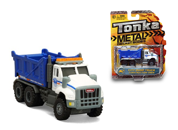 07343 - Tonka City Dump Truck Tonka Construction Crew