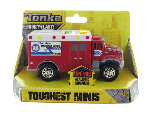 07835 - Tonka Ambulance with Lights and Sound