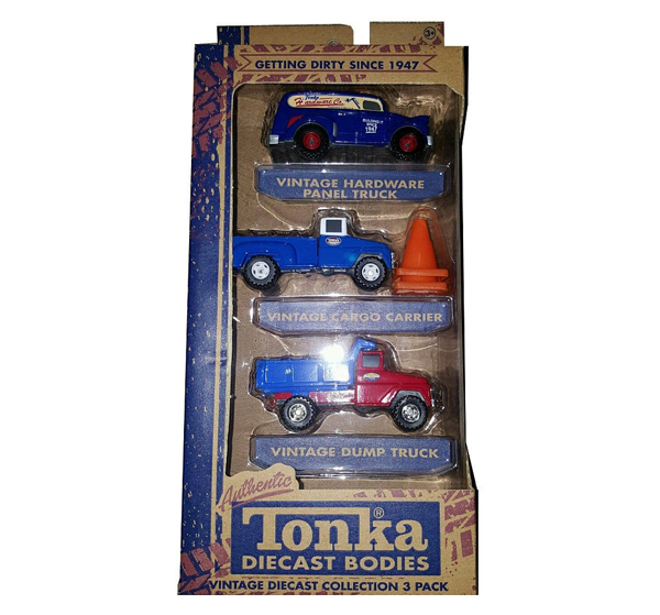 08204 - Tonka Classic Tonka 3 Pack Collection Vintage