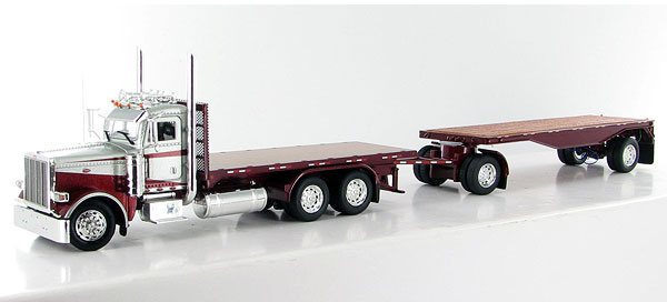080193 - Tonkin Replicas Peterbilt 388 Day Cab Flatbed