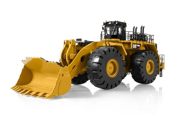 10008 - Tonkin Replicas Caterpillar 994H Wheel Loader Articulated steering