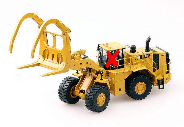 10011-X - Tonkin Replicas Caterpillar 988K MA Wheel Loader