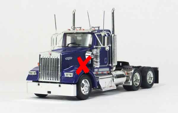 11-1006-X - Tonkin Replicas Kenworth W900 Day Cab