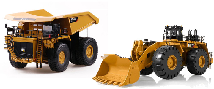 COMBO4 - Tonkin Replicas Caterpillar MT4400D AC Mine Truck 30001