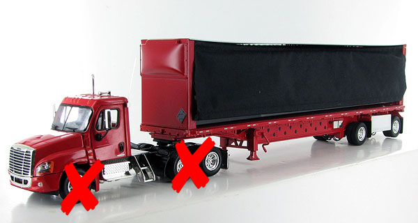 FSM011-X - Tonkin Replicas Freightliner Cascadia Day Cab