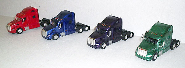 SP3006 - Tonkin Replicas Peterbilt 587 Super Pack of Four