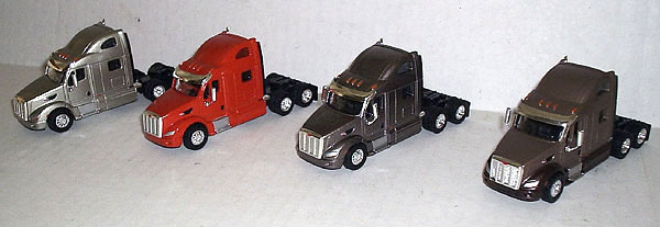 SP3007 - Tonkin Replicas Peterbilt 587 Super Pack of Four
