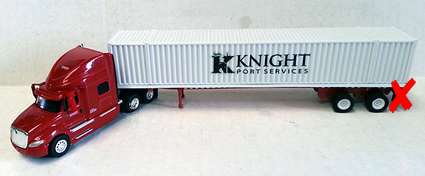 SPT3162-X - Tonkin Replicas Knight Port Services International Prostar Sleeper