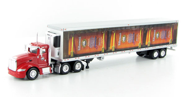 SPT3178 - Tonkin Replicas Tillamook Cheese Peterbilt 386 Day Cab