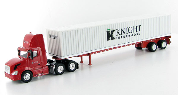 SPT3304 - Tonkin Replicas Knight Intermodal Volvo VNL 300 Day