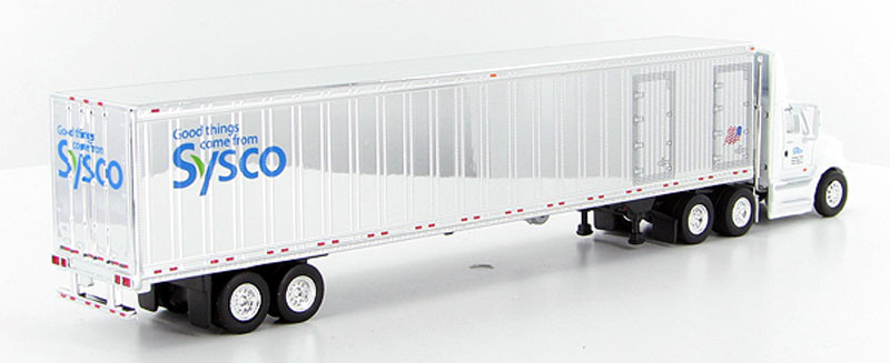 Trucks tonkin sp124 sysco foods international prostar with 53