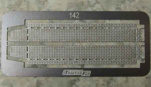 142 - Tractorfab Tread Plate Running Boards One Pair
