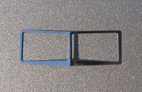 196 - Tractorfab Chrome Windshield Trim Fits DCP Peterbilt