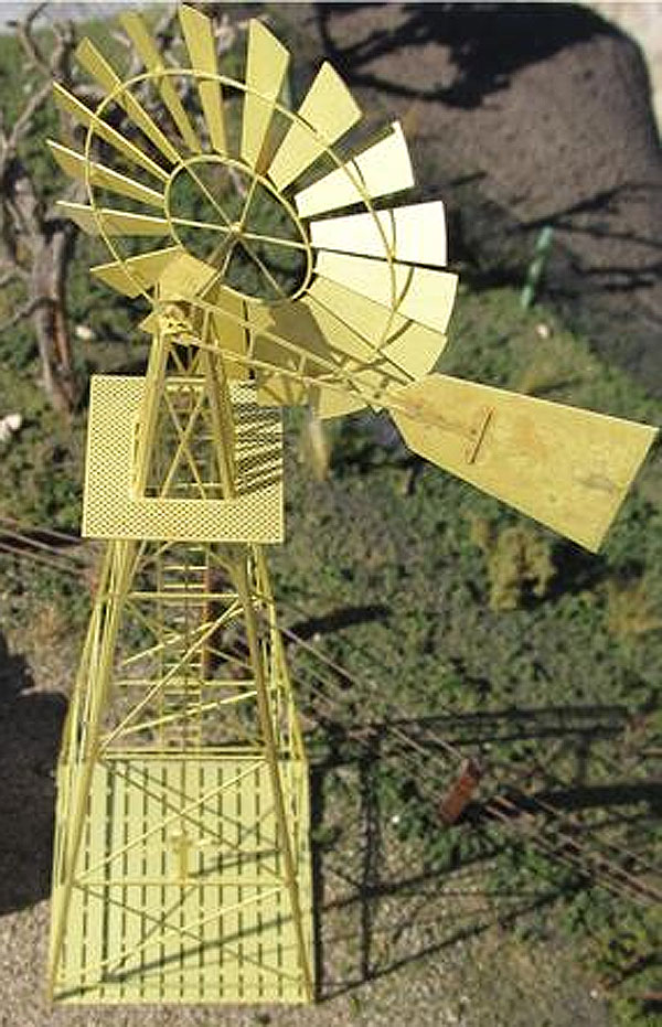 206 - Tractorfab Vintage Windmill Kit Made from brass