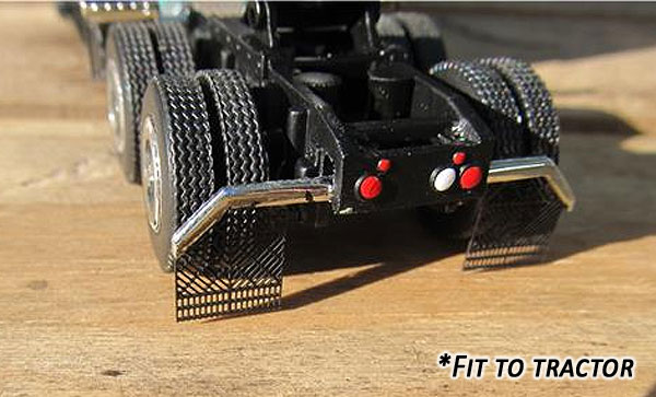 229 - Tractorfab Aerodynamic Perforated Mud Flaps
