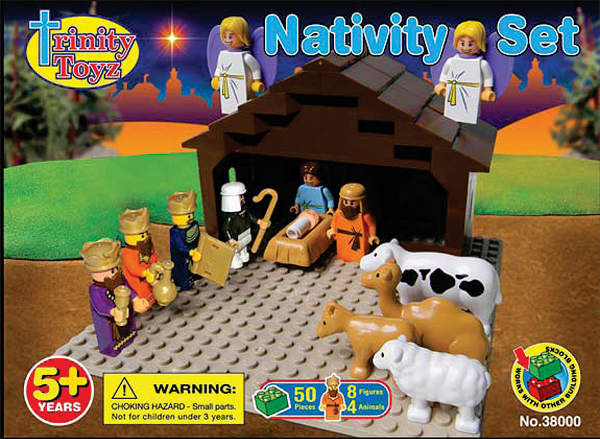 38000 - Trinity-Toyz-Nativity-Scene-50-piece-Construction-Block
