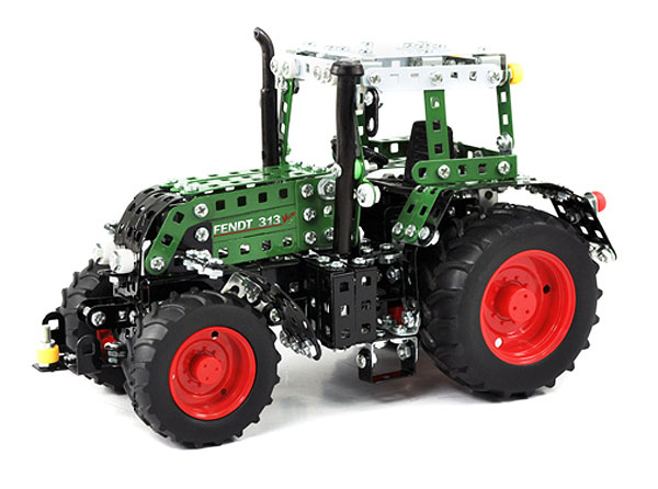 10067 - Tronico Fendt Vario 313 Tractor Metal Construction