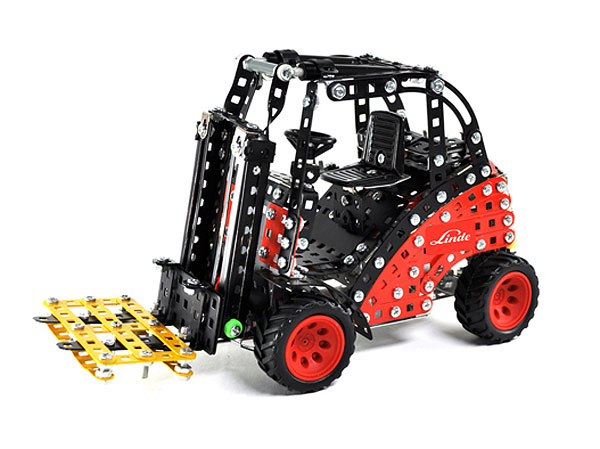 10092 - Tronico Linde Forklift Truck Metal Construction Kit