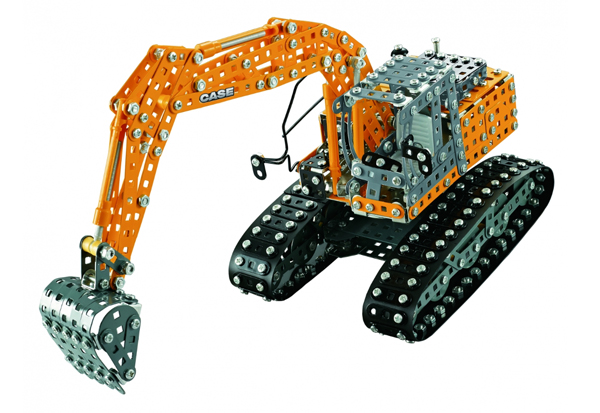 10101 - Tronico Case CE Excavator Metal Construction Kit