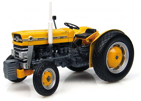 2872 - Universal Hobbies Massey Ferguson 135 Industrial Version Tractor