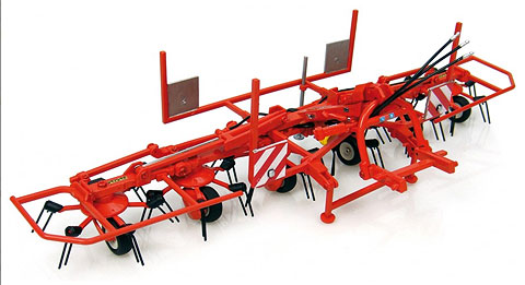 2922 - Universal Hobbies Kuhn GF 6502 Wheeled Tedder