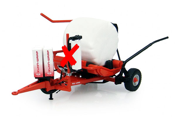 4042-X - Universal Hobbies Kuhn RW 1400 Bale Wrap MODEL