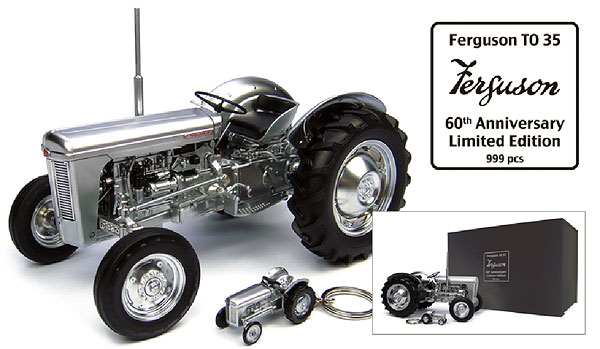 4862 - Universal Hobbies Ferguson TO35 Tractor 60th Anniversary Edition