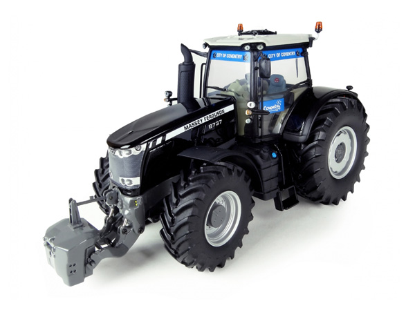 5205 - Universal Hobbies Massey Ferguson 8737 Black Beauty Tractor