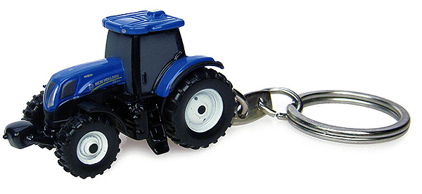 5584 - Universal Hobbies New Holland T7210 Tractor Key Ring
