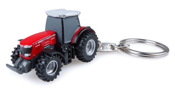 5827 - Universal Hobbies Massey Ferguson 8737 Tractor Key Ring