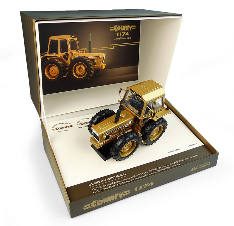 6211 - Universal Hobbies Ford County 1174 Gold version 50th anniversary