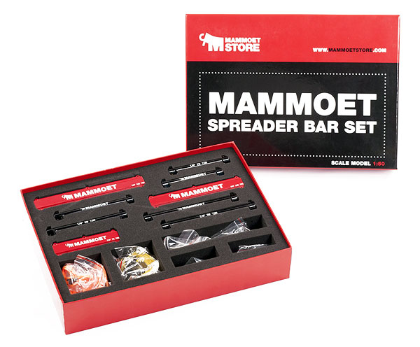M410095 - Weiss Brothers Mammoet 121 Piece Lifting Kit