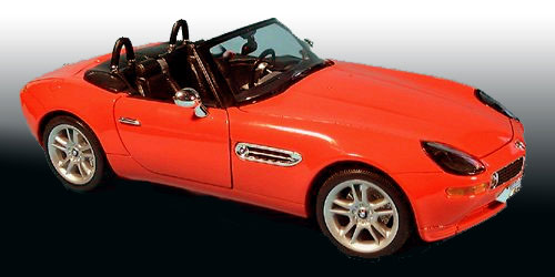 19843W-R-X - Welly BMW Z8