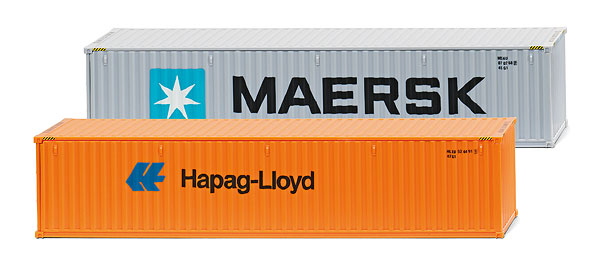 001813 - Wiking Maersk Hapag Lloyd 40 Containers