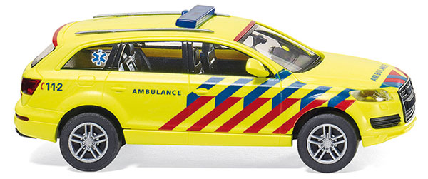 007117 - Wiking Dutch Emergency Doctors Vehicle Audi Q7